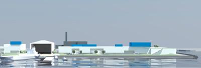 海洋エネルギー研究センターのCGイメージ